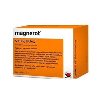 Magnerot tbl.200 x 500 mg
