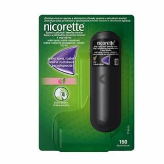 Nicorette spray s príchuťou lesného ovocia aer.ors.1x150 dávok