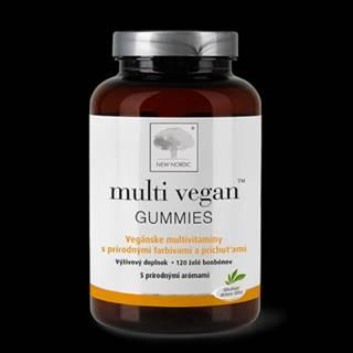 NEW NORDIC multi vegan gummies 120 multivitamínových želé bonbónov