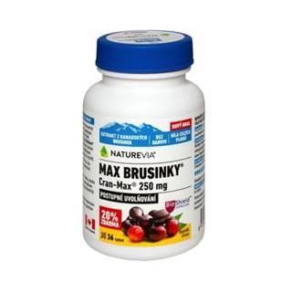 SWISS NATUREVIA Max brusnice cran-max 250 mg 30 kapsúl