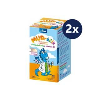VITAR MUDráčik multivitamín s rakytníkom duopack 2 x 60 tabliet