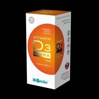 BIOMIN Vitamín D3 ultra 7000 I.U. 30 kapsúl