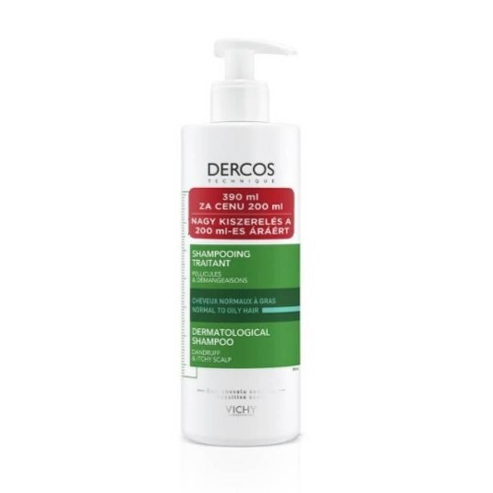 Vichy VICHY Dercos anti-dandruff DS šampón proti lupinám, normálne až mastné vlasy 390 ml