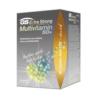 GS Extra strong multivitamín 50+ darček 2021 90 + 30 tabliet ZADARMO