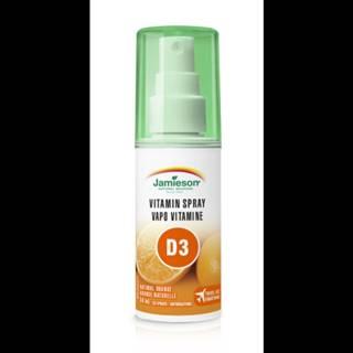 JAMIESON Vitamín D3 sprej na orálne použitie 58 ml