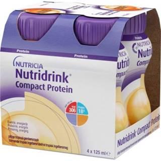 NUTRIDRINK Compact protein s príchuťou hrejivého zázvoru 24 x 125 ml