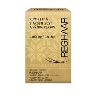 REGHAAR Komplexná starostlivosť a výživa vlasov vlasový stimulátor 30 tablietl + vlasový aktivátor 50 ml + šampón 175 ml