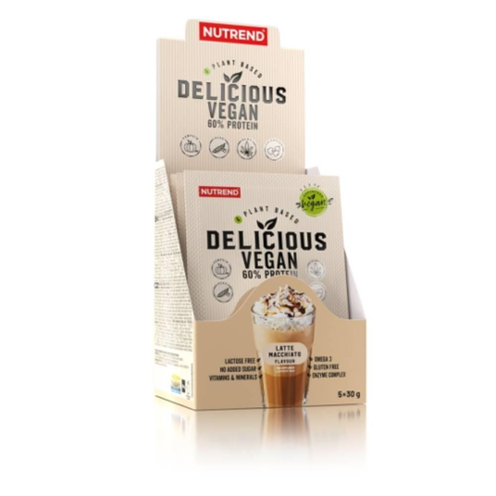 Nutrend NUTREND Delicious vegan protein latte macchiato 5 x 30 g