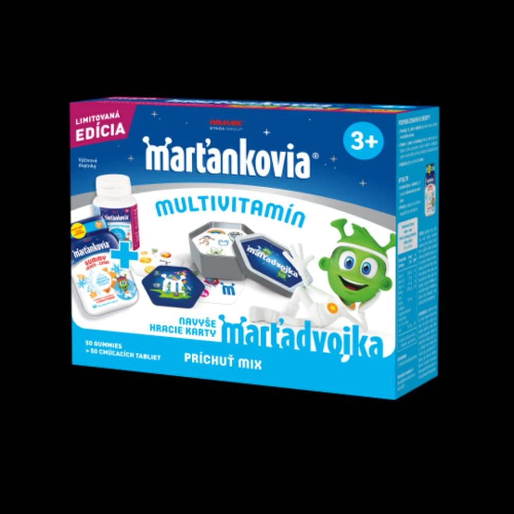 Walmark WALMARK Marťankovia multivitamín mix 1 set