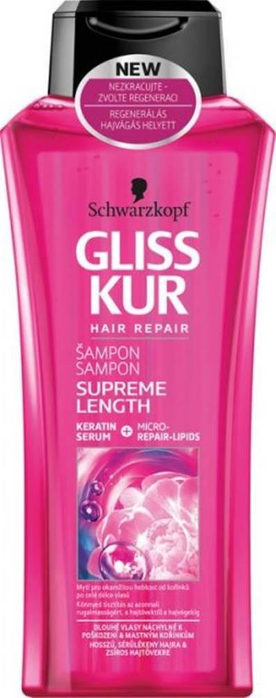 GLISS KUR GLISS KUR šampón Supreme Length