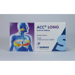 ACC long šumivé tablety 10 tbl