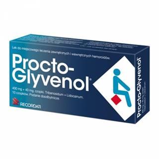 Procto-Glyvenol čapíky 10 ks