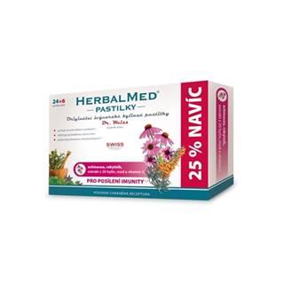 HERBALMED pastilky pre posilnenie imunity Dr Weiss 24+ 6 past ZDARMA