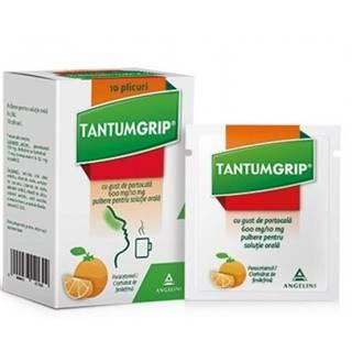 Tantumgrip s pomarančovou príchuťou 600 mg/10 mg 10 vreciek