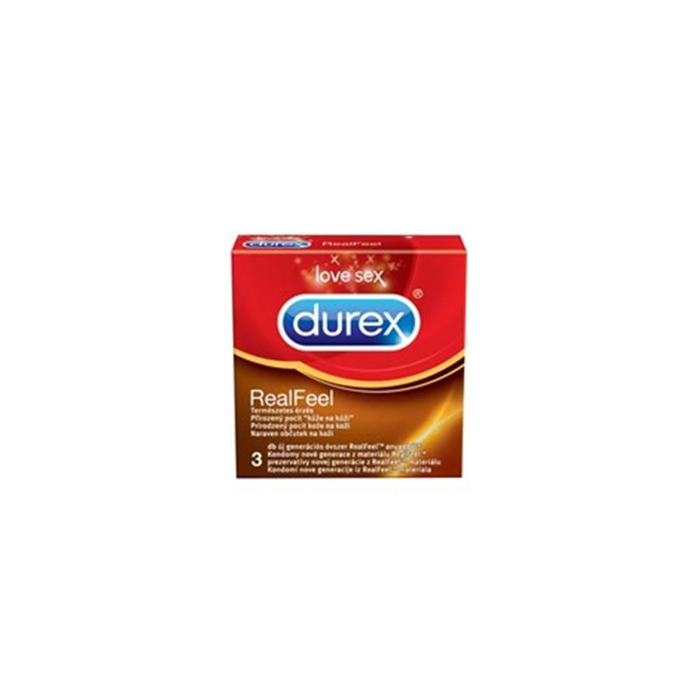 Durex RealFeel kondómy 3 ks