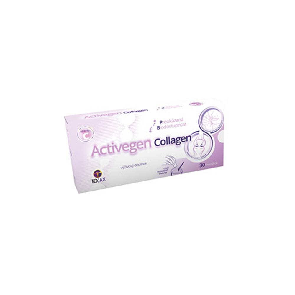 Activegen Collagen prášok 30 vreciek