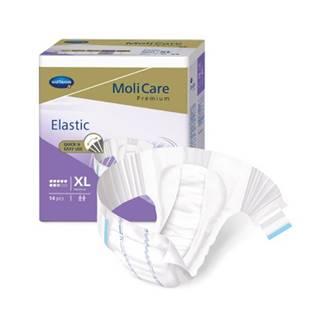 MoliCare Premium Elastic 8 kvapiek XL plienkové nohavičky zalepovacie 14 ks