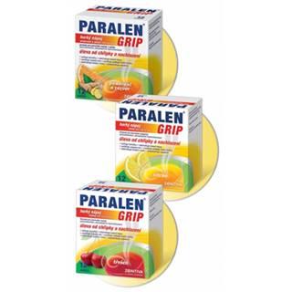 Paralen Grip horúci nápoj Pomaranč a zázvor 500 mg/10 mg 12 sáčkov