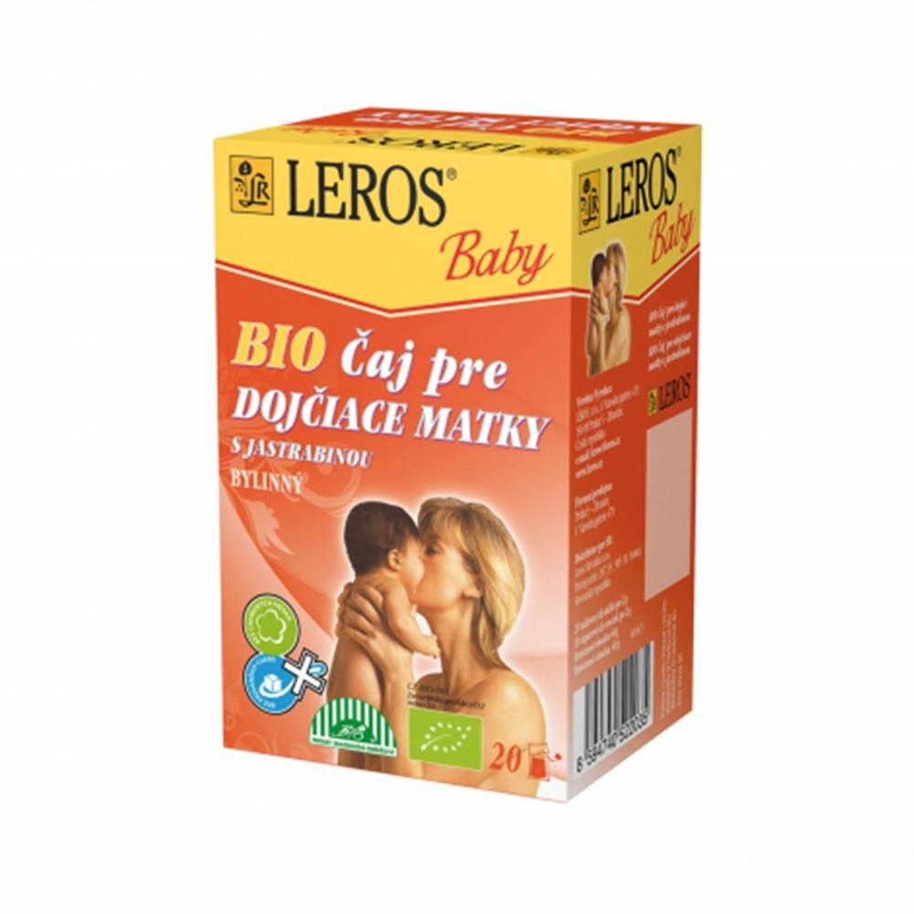 LEROS BABY BIO Čaj pre dojčiace matky porciovaný 20x2g