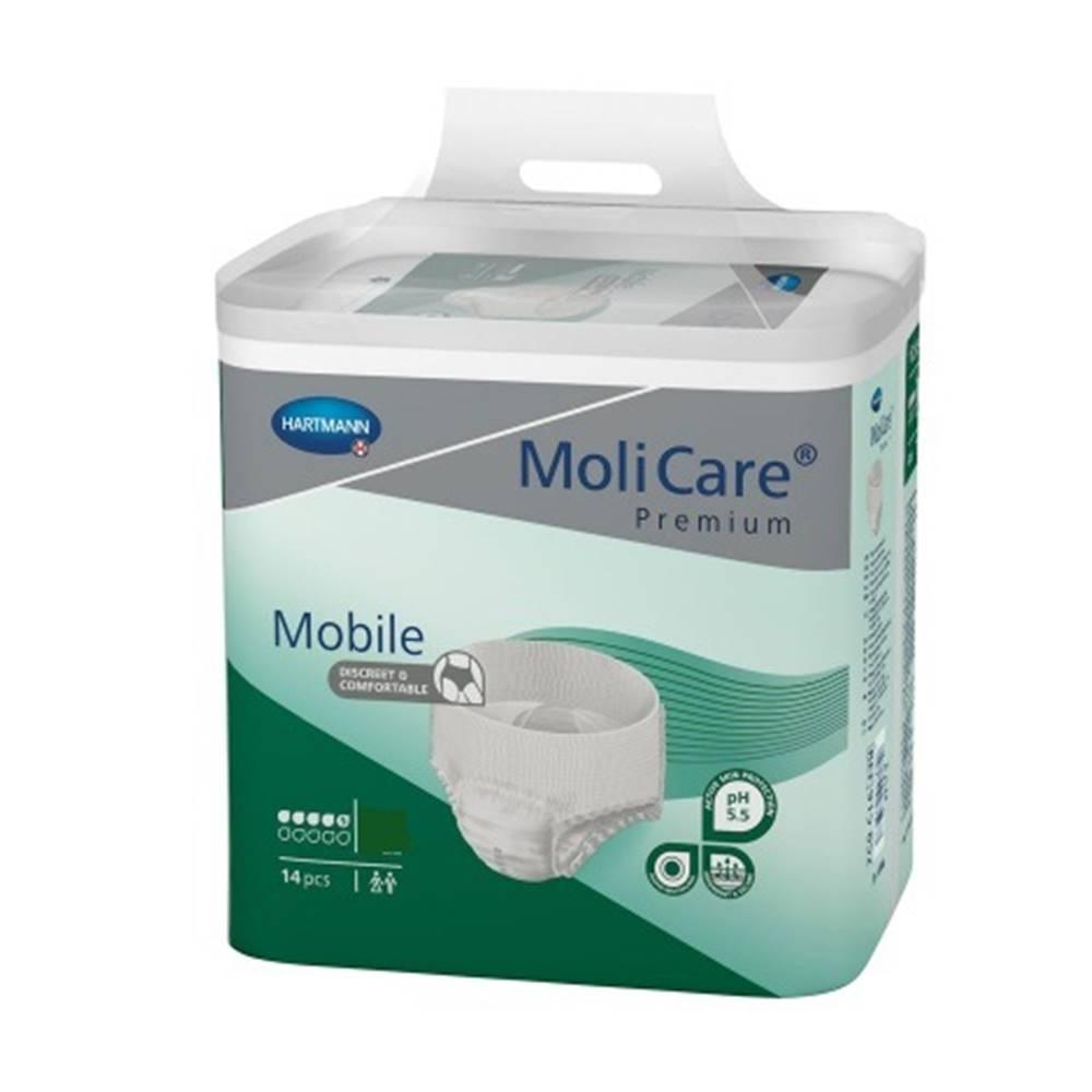 MoliCare Premium Mobile 5 kvapiek XL plienkové nohavičky naťahovacie 14 ks