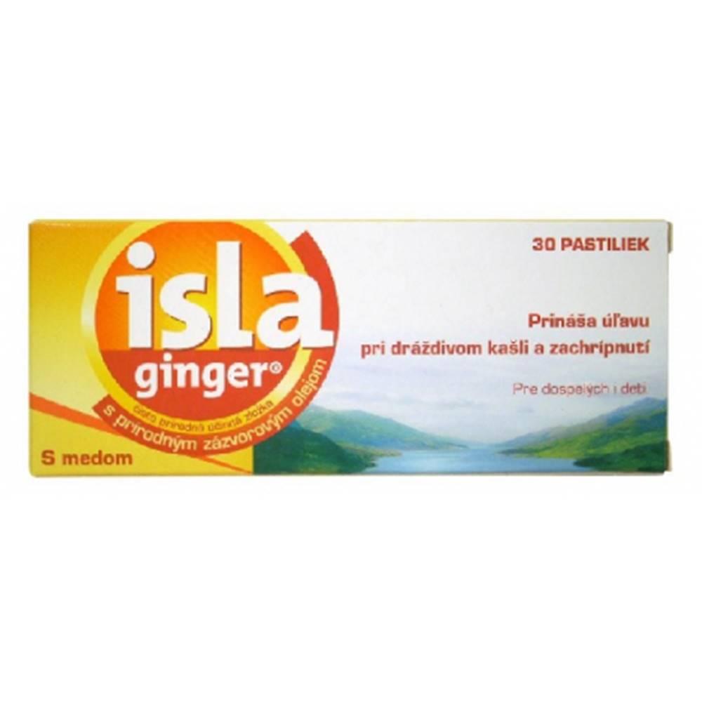 Isla ginger s medom 30pastiliek