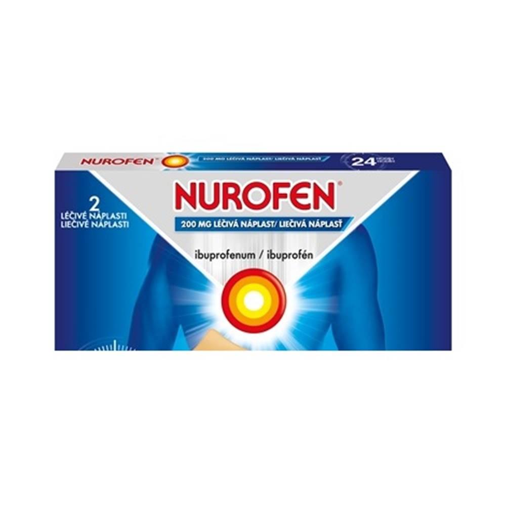 NUROFEN 200 mg liečivá náplasť 2 ks