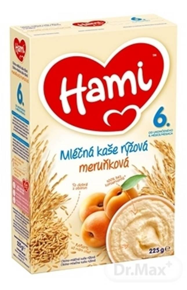 Hami Hami mliečna kaša ryžová marhuľová