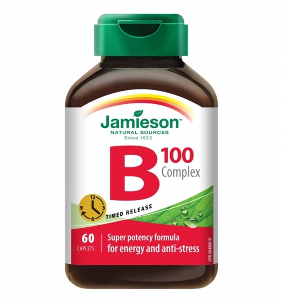 Jamieson JAMIESON B-KOMPLEX 100 mg S POSTUPNÝM UVOĽŇOVANÍM
