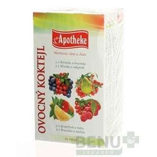 APOTHEKE Premier selection čaj ovocný koktejl 20 x 2g