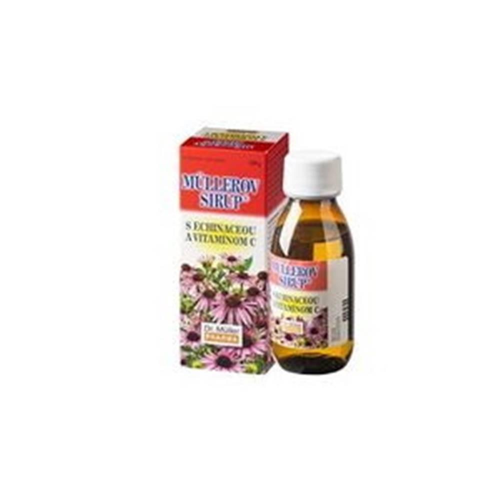 DR. MÜLLER MÜLLEROV SIRUP s echinaceou a vitamínom C 320 g