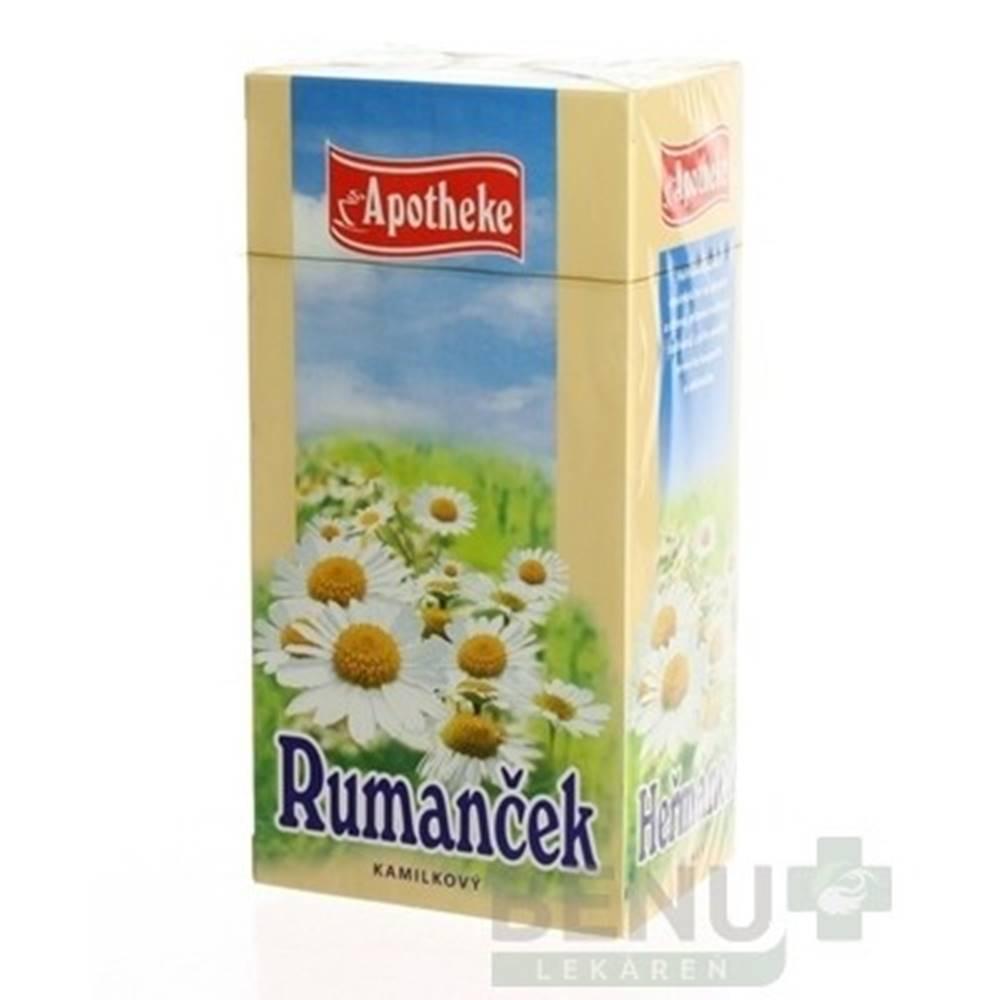 Apotheke APOTHEKE Čaj rumanček kamilkový 20 x 1,5 g