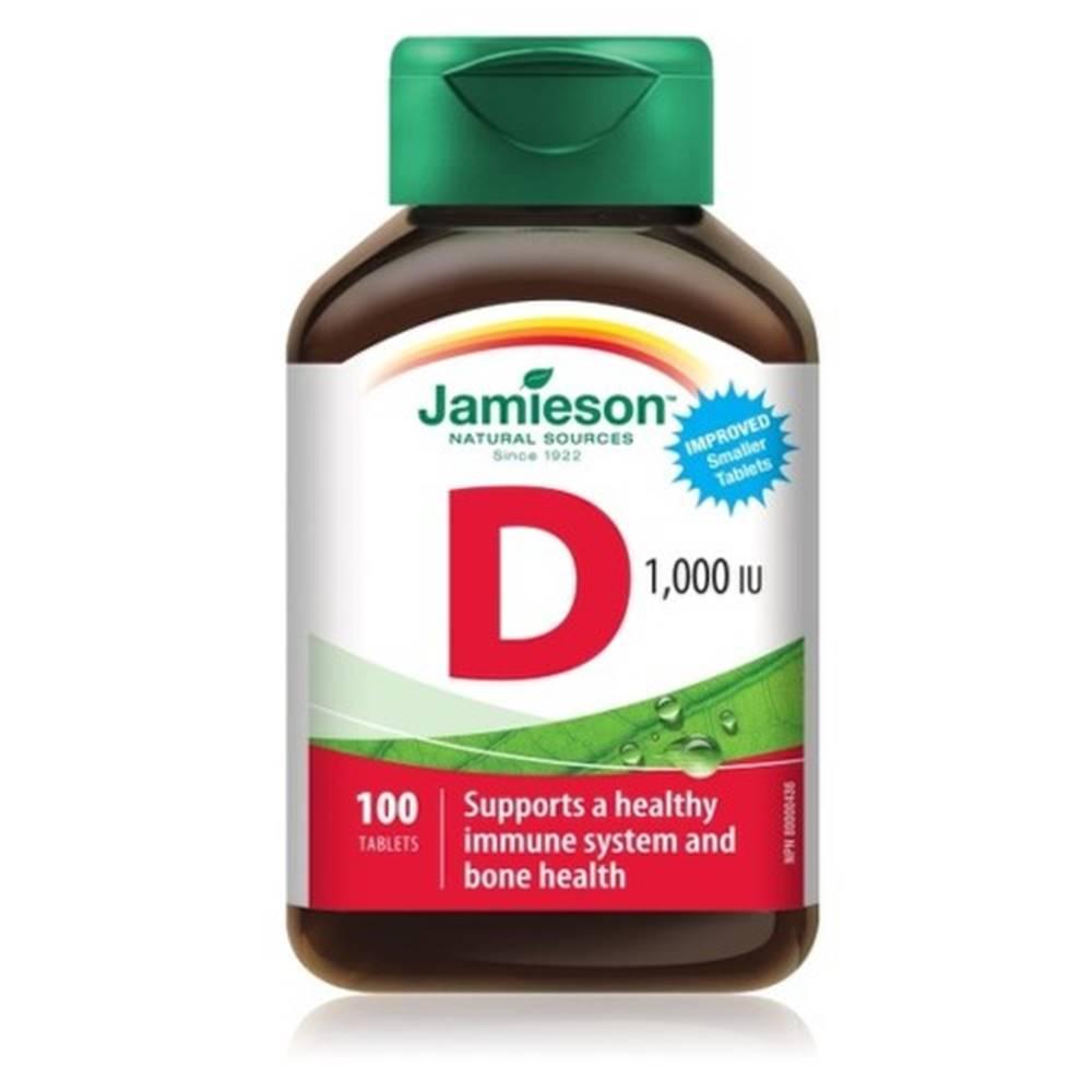 Jamieson JAMIESON Vitamín D3 1000 IU 100 tabliet