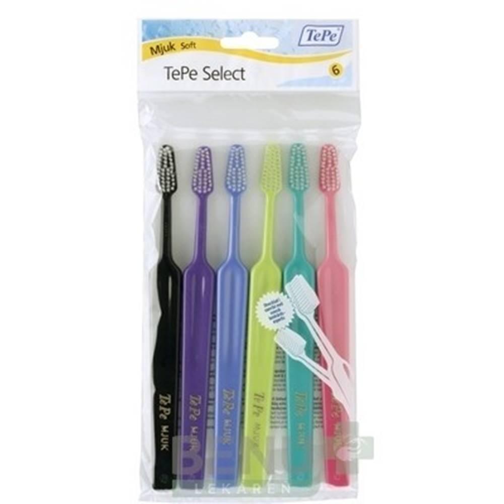 Tepe TEPE Select soft zubná kefka 4 + 2 kusov ZADARMO