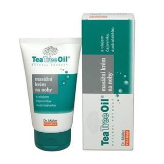 DR. MÜLLER Tea Tree oil masážny krém na nohy 150 ml