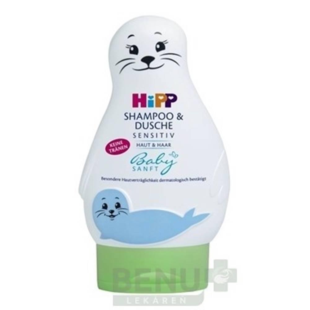 HiPP HiPP BabySanft šampón na telo a vlasy 200 ml
