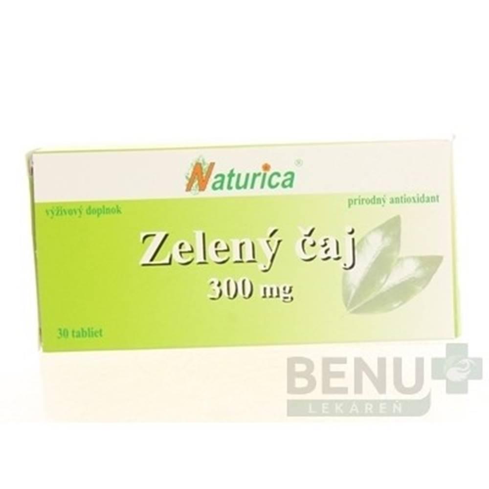 Naturica NATURICA Zelený čaj 300 mg 30 tabliet