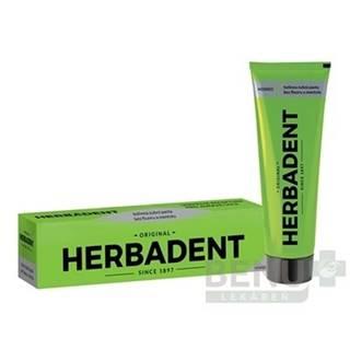 HERBADENT Original homeo bylinná zubná pasta 100 g