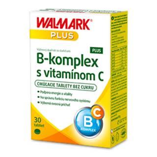 WALMARK B-komplex PLUS s vitamínom C 30 cmúľacích tabliet