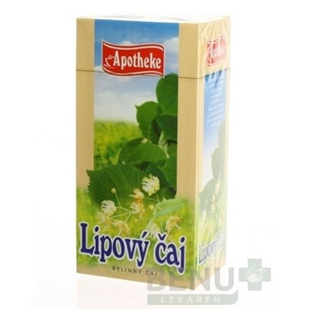 Apotheke APOTHEKE Lipový bylinný čaj 30 x 1,5 g