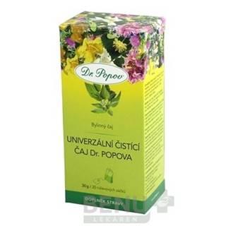 DR. POPOV Čaj univerzálny čistiaci 20 x 1,5g
