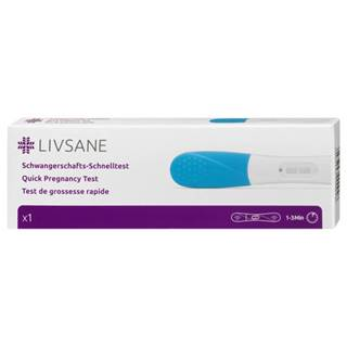 LIVSANE Rýchly tehotenský test 1 kus