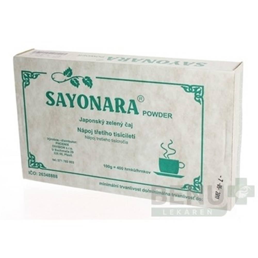 Fytopharma SAYONARA Powder japonský zelený čaj 4 x 25g