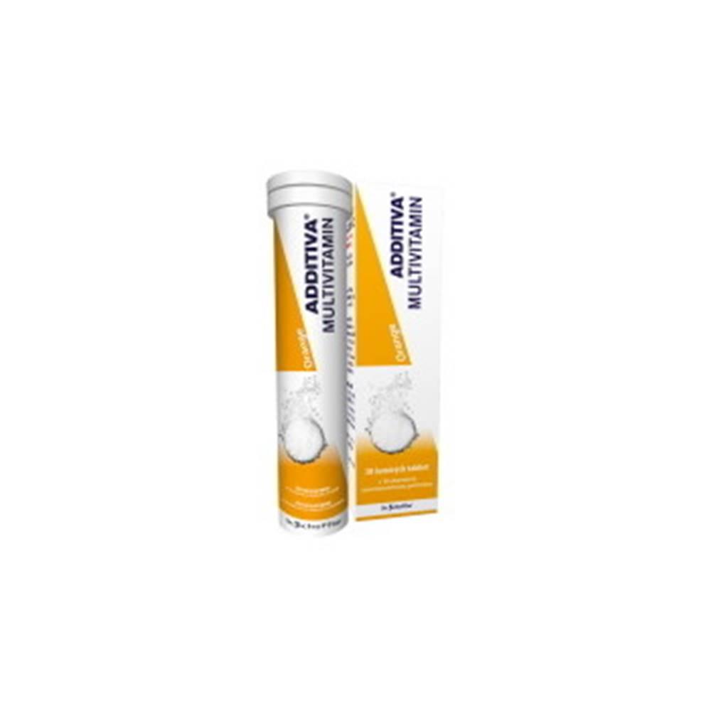 Additiva ADDITIVA Multivitamín orange 20 šumivých tabliet