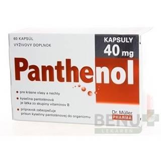 DR. MÜLLER Panthenol 40 mg 60 kapsúl