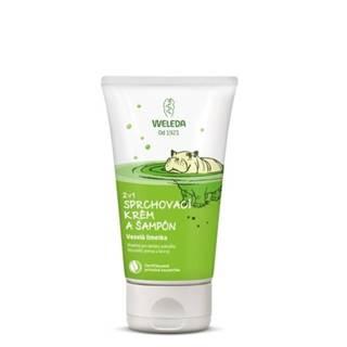 WELEDA 2v1 Sprchový krém a šampón veselá limetka 150 ml