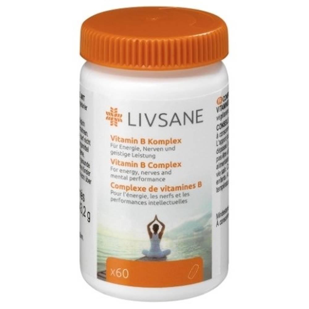 LIVSANE LIVSANE Vitamín B komplex 60 tabliet