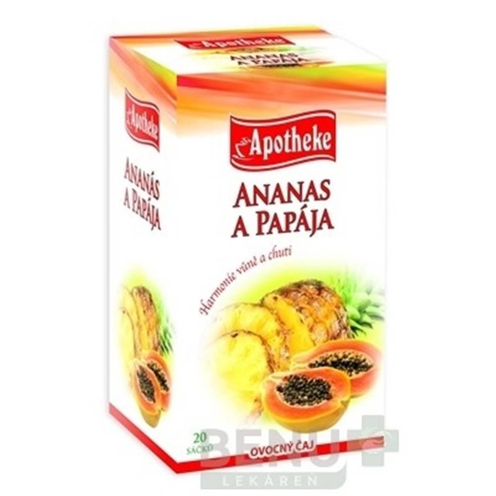 Apotheke APOTHEKE Premier selection čaj ananás a papája 20 x 2g