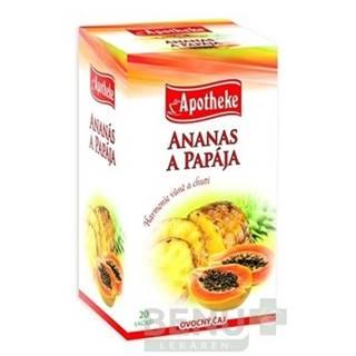 APOTHEKE Premier selection čaj ananás a papája 20 x 2g