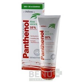 MEDPHARMA Panthenol 10% telové mlieko 200 ml + 30 ml ZADARMO