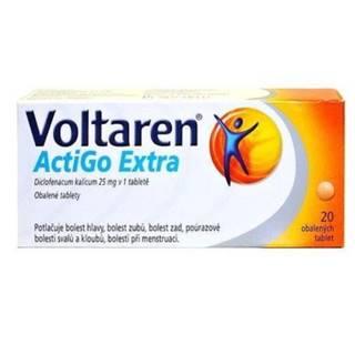 VOLTAREN Actigo extra 25 mg 20 tabliet